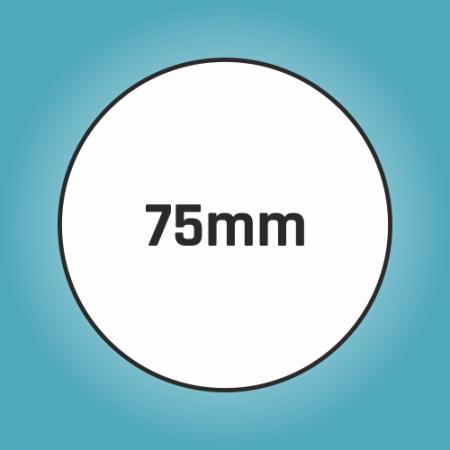 Button 75 mm
